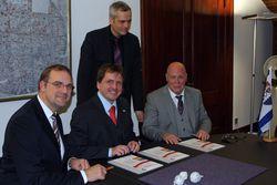 Unterzeichnung der Partnerschaftsvereinbarung