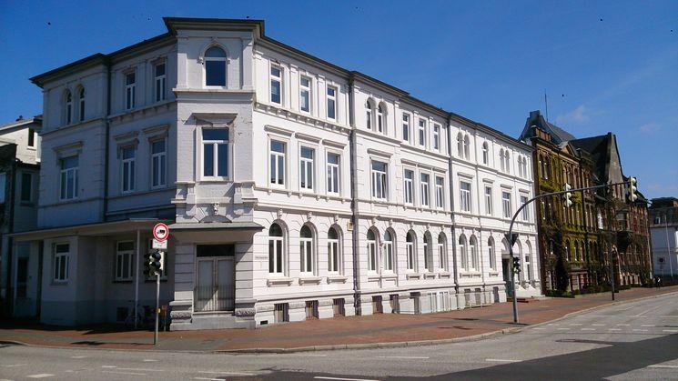 Süd- und Westfassade ehemaliges Bahnhofshotel