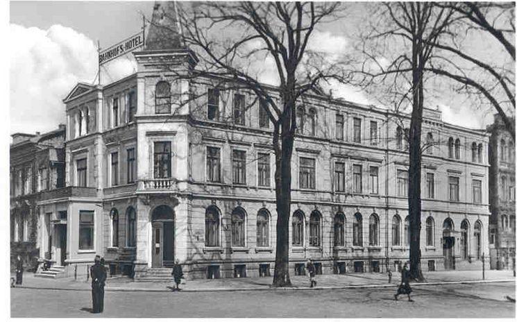 ehemaliges Bahnhofshotel um 1950 - 3