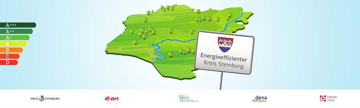 Energieeffizienter Kreis Steinburg