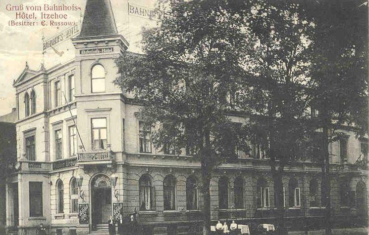 ehemaliges Bahnhofshotel um 1950 - 4