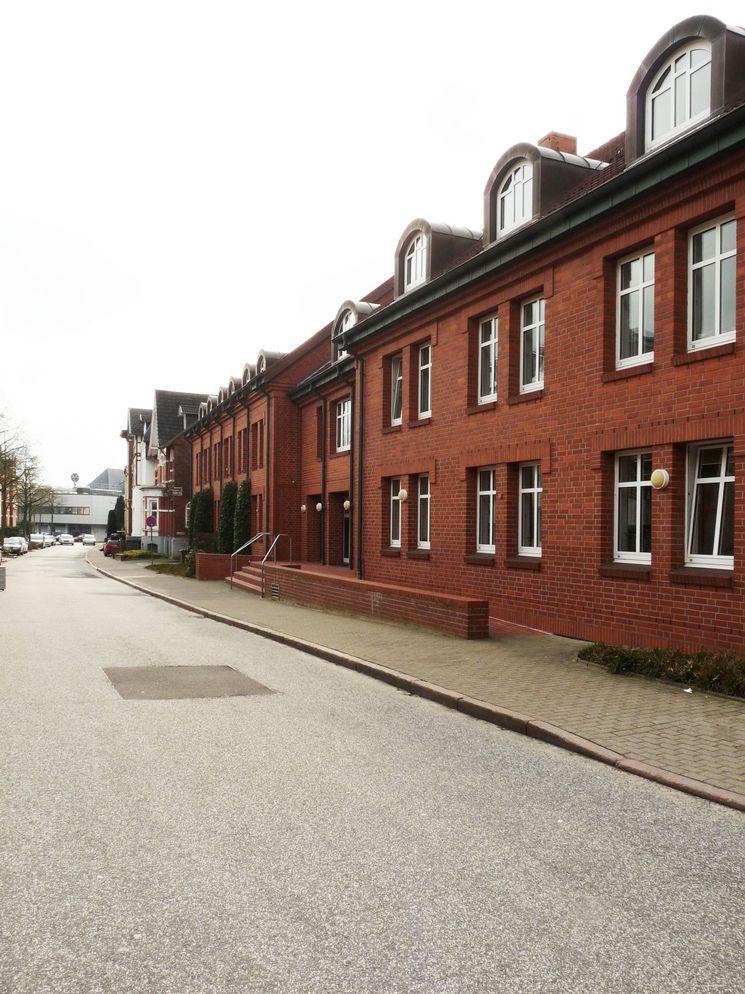 Nord-Ostfassade Bau- und Umweltamt Karlstraße - Blick Richtung Südost