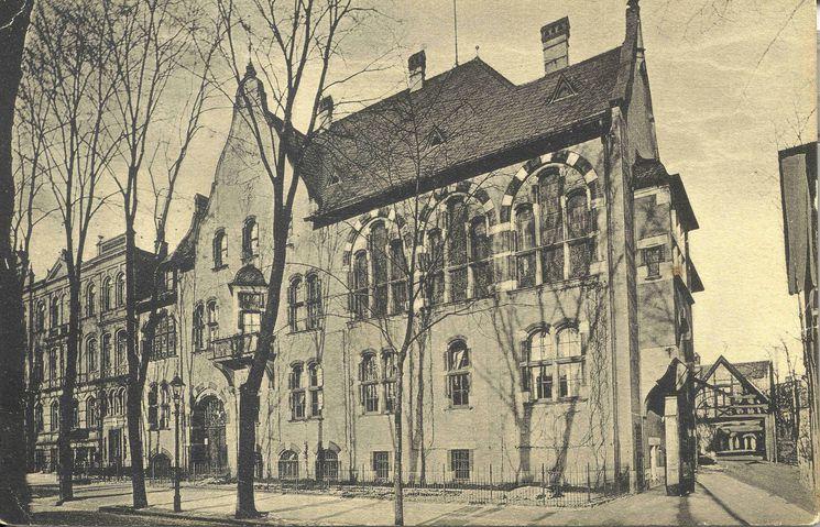 ehemaliges Bahnhofshotel um 1920 - 2