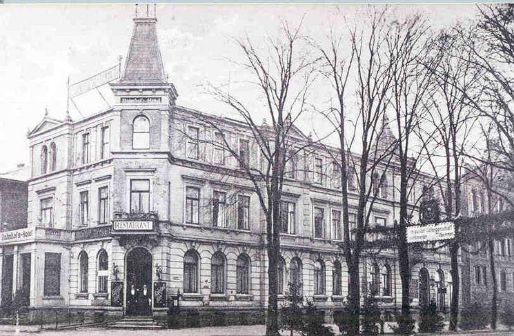 ehemaliges Bahnhofshotel um 1910