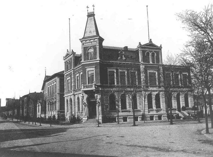 ehemaliges Bahnhofshotel nach 1891