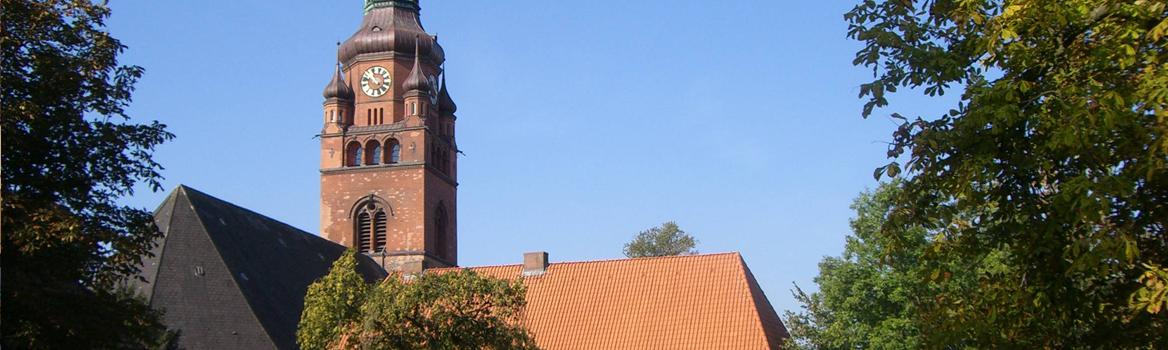 Turm der St. Laurentii-Kirche in Itzehoe