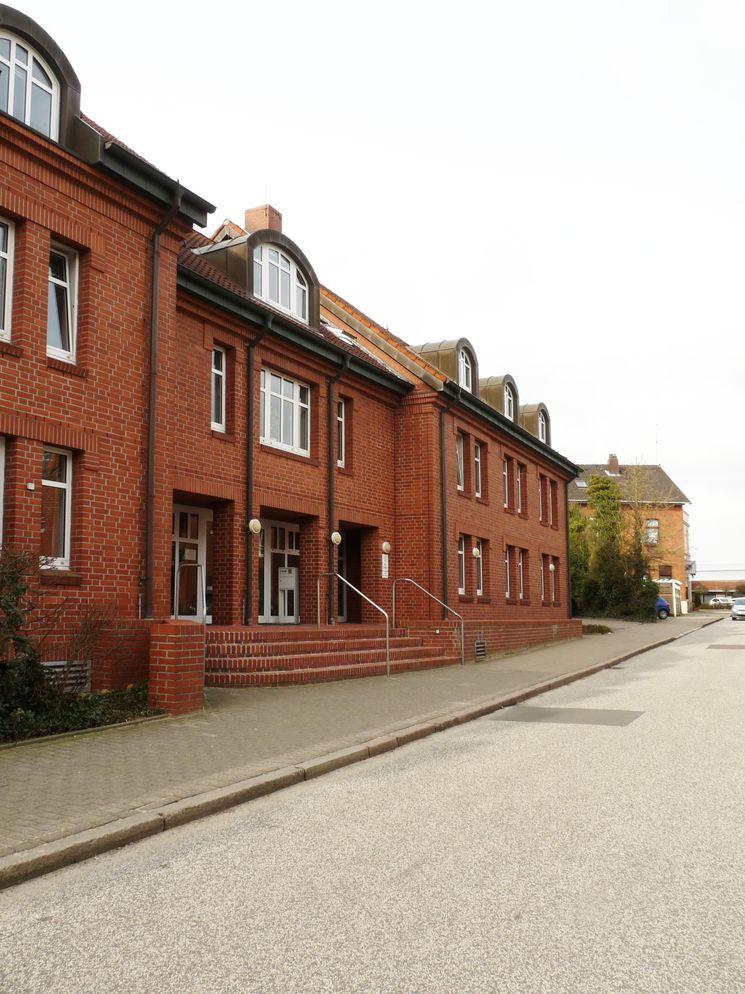 Nord-Ostfassade Bau- und Umweltamt Karlstraße - Blick Richtung Nordwest