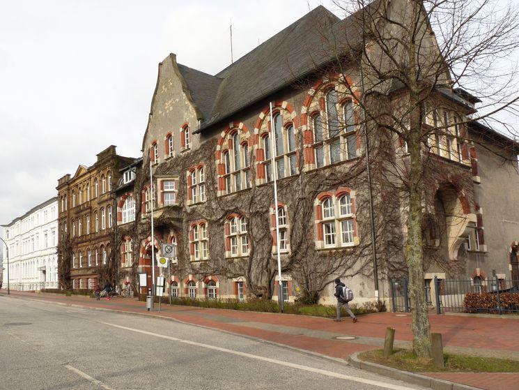 Südfassade historisches Landratsamt - Blick Richtung Westen