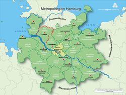 Grafik Metropolregion Hamburg