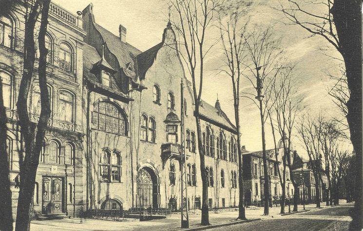 ehemaliges Bahnhofshotel um 1920 - 1