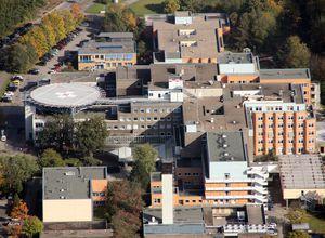 Luftbild des Klinikums Itzehoe