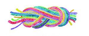 bunter Knoten - Logo des Behindertenbeauftragten