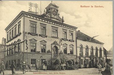 Das alte Rathaus in Itzehoe