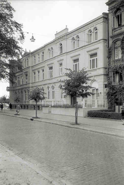 ehemaliges Bahnhofshotel um 1950 - 1