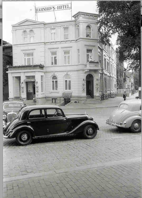 ehemaliges Bahnhofshotel um 1950 - 2